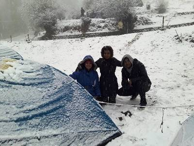 Snow Camping Trip to Auli