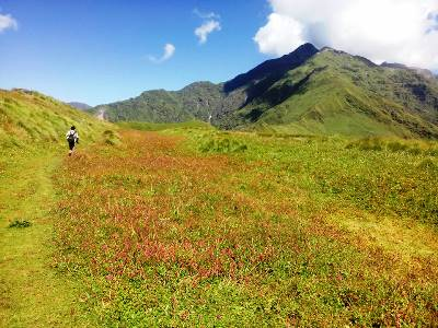 Trek route to Valley of Flowers